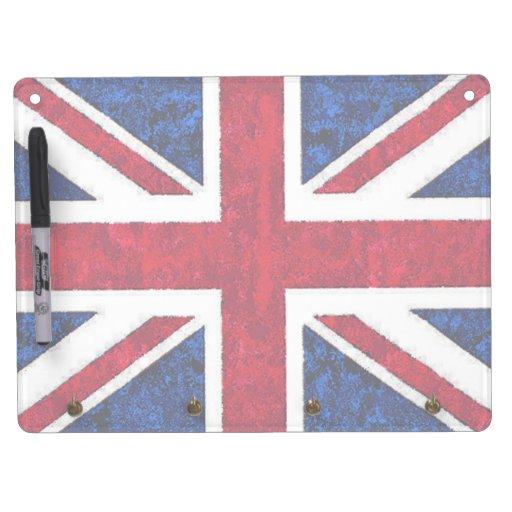UNITED KINGDOM FLAG Dry Erase Board