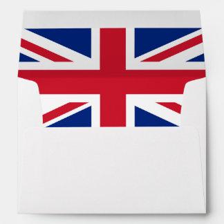 United Kingdom flag Envelope