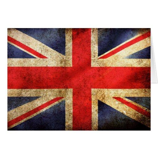UNITED KINGDOM FLAG FELICITACIÓN