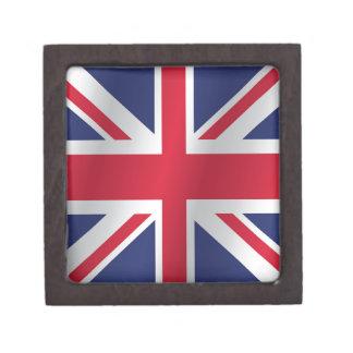 United Kingdom flag Keepsake Box
