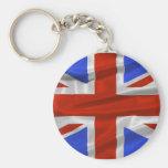 United Kingdom Flag Keychain