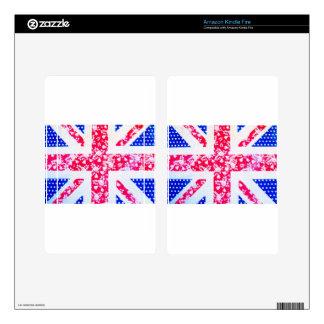 United Kingdom Flag Kindle Fire Skin