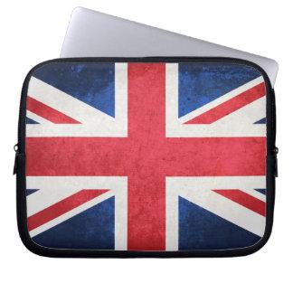 United Kingdom Flag Laptop Computer Sleeves