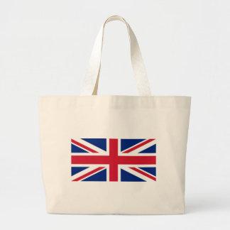 United Kingdom Flag Large Tote Bag