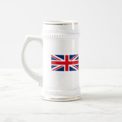 United Kingdom Flag Stein