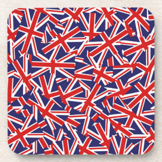 United Kingdom Flag Pattern Coaster