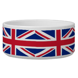 United Kingdom Flag Pet Bowl