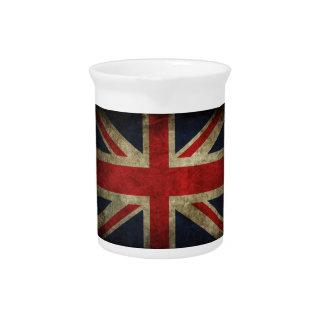 United Kingdom Flag Drink Pitcher