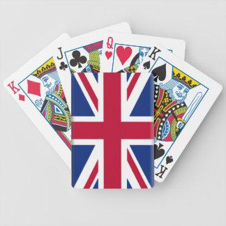 United Kingdom Flag Poker Cards