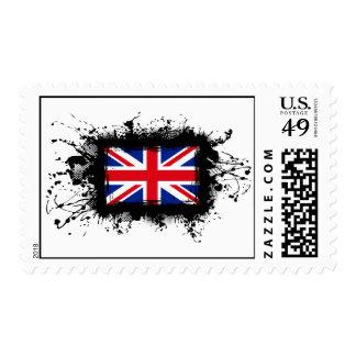 United Kingdom Flag Stamp