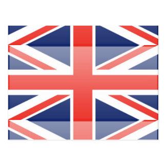 United Kingdom Flag Post Card
