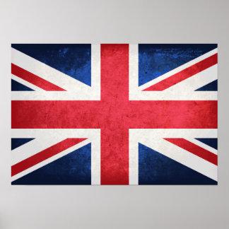 United Kingdom Flag Poster
