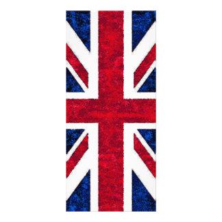 UNITED KINGDOM FLAG RACK CARD