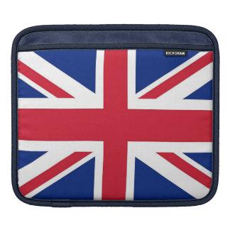 United Kingdom Flag Rickshaw Sleeve iPad Sleeves