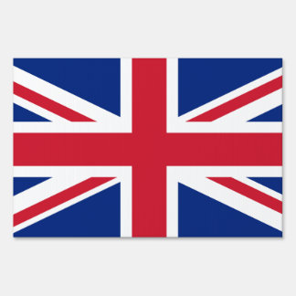United Kingdom flag Sign