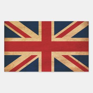 United Kingdom Flag Rectangular Sticker