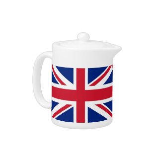 United Kingdom Flag Teapot