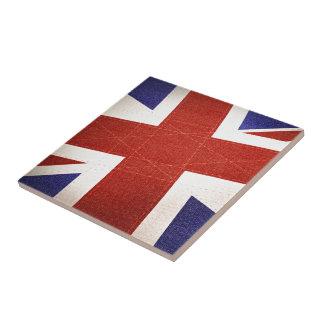 United Kingdom Flag - Textured Ceramic Tile