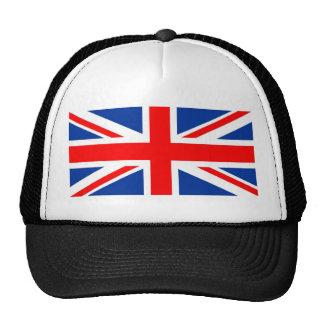 united kingdom flag trucker hat