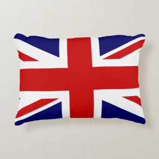 United Kingdom Flag / Union Jack Accent Pillow
