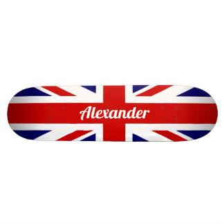 United Kingdom Flag / Union Jack | Personalised Skateboard