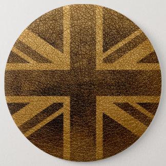 United Kingdom Flag Vintage #3 Pinback Button