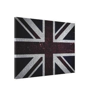 United Kingdom Flag Vintage #4 Canvas Print