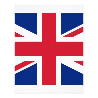 United Kingdom flag, whole or detail view Letterhead