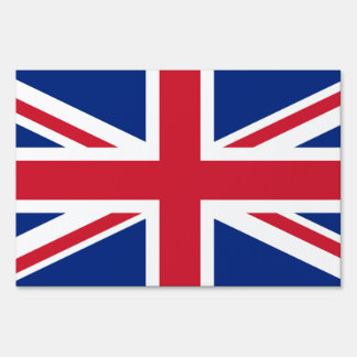 United Kingdom flag Yard Sign