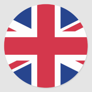 United Kingdom GB Classic Round Sticker