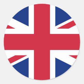 United Kingdom GB Classic Round Sticker