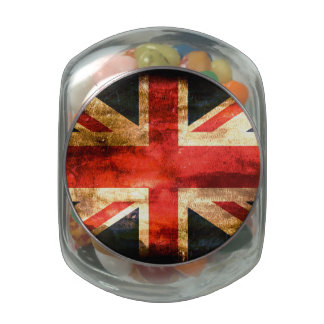 United Kingdom Glass Candy Jars