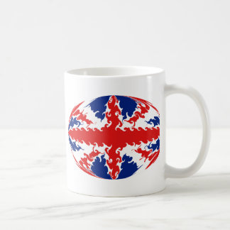 United Kingdom Gnarly Flag Mug