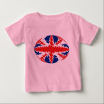 United Kingdom Gnarly Flag T-Shirt