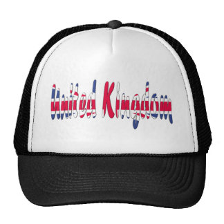 United Kingdom Mesh Hats