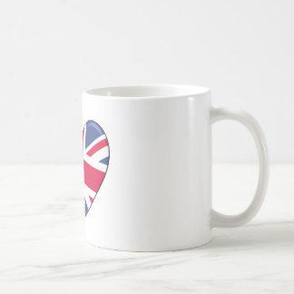 United Kingdom Heart Flag Coffee Mug