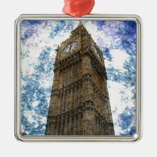 United kingdom houses of parliament London Big Ben Metal Ornament