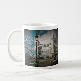 united kingdom Lamppost thames london tower bridge Coffee Mug
