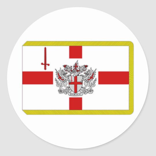 United Kingdom Lord Mayor of the City of London Classic Round Sticker
