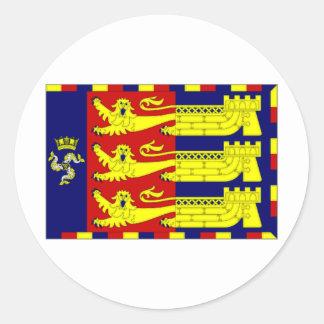 United Kingdom Lord Warden of the Cinque Ports Classic Round Sticker