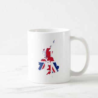 United Kingdom map Flag GB Coffee Mug