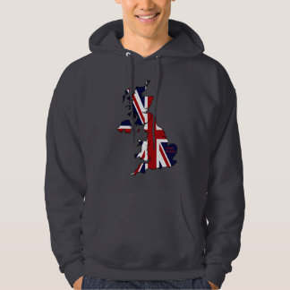United Kingdom Mapped Hoodie