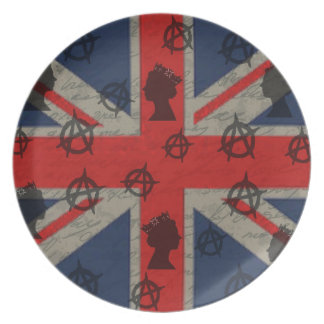 United Kingdom Melamine Plate