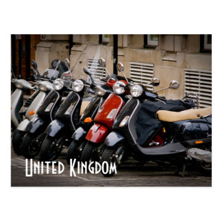 United Kingdom Motorbike Postcard
