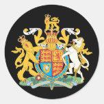 United Kingdom national emblem Round Sticker