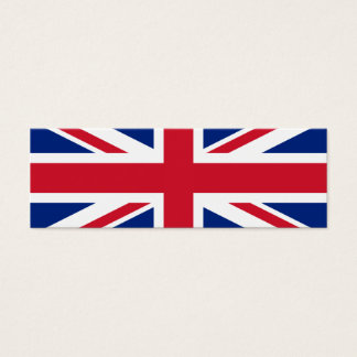 United Kingdom National Flag Mini Business Card