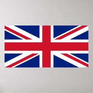 United Kingdom National Flag Posters