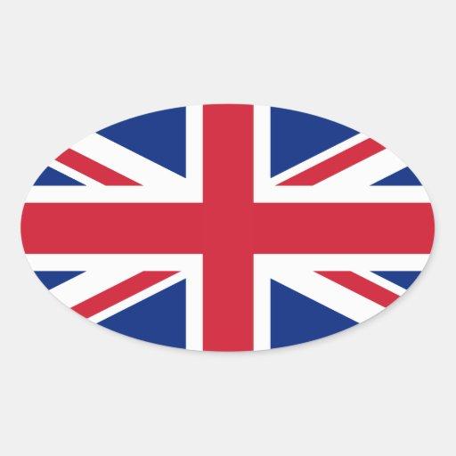United Kingdom National Flag Stickers
