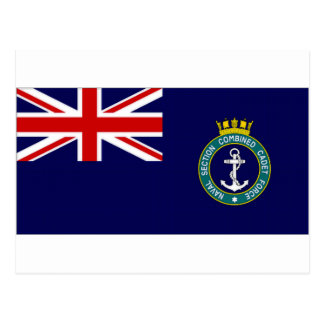 United Kingdom Naval Section Combined Cadet Force Postcard