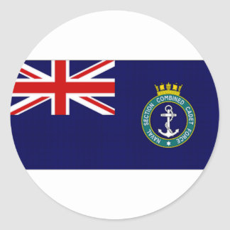 United Kingdom Naval Section Combined Cadet Force Sticker